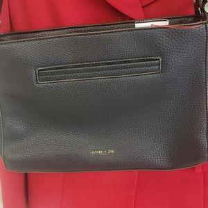 Oliva and joy black shoulder purse